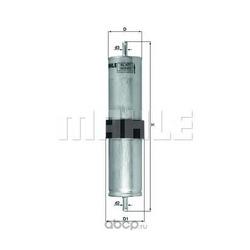 Топливный фильтр (Mahle/Knecht) KL477