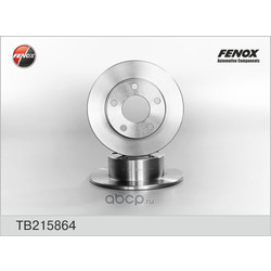 ДИСК ТОРМОЗНОЙ FENOX (FENOX) TB215864