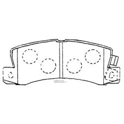 Колодки тормозные дисковые (FIT) FP0685