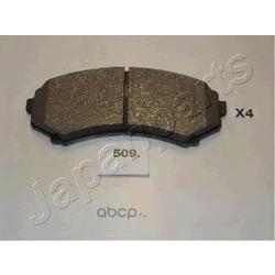 Комплект экономичных тормозных колодок (Japanparts) PA509P