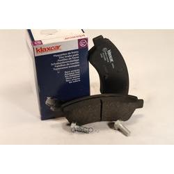 Комплект тормозных колодок, дисковый тормоз (Klaxcar) 24804Z