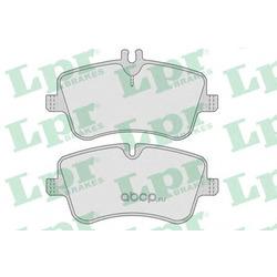 Комплект тормозных колодок, дисковый тормоз (Lpr) 05P767
