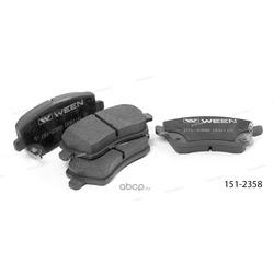 Тормозные колодки дисковые передние (Ween) 1512358