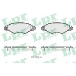 Комплект тормозных колодок, дисковый тормоз (Lpr) 05P903
