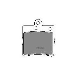 Комплект тормозных колодок, дисковый тормоз (Mapco) 6599