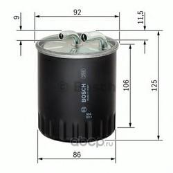 Фильтр топливный Bosch (Bosch) 1457434437