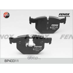 Комплект тормозных колодок, дисковый тормоз (FENOX) BP43311