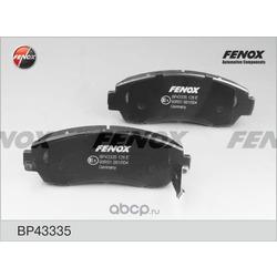 Комплект тормозных колодок, дисковый тормоз (FENOX) BP43335