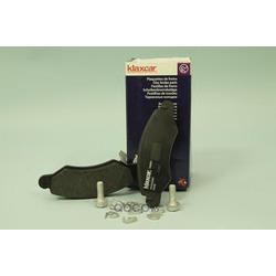 Комплект тормозных колодок, дисковый тормоз (Klaxcar) 24860Z