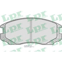 Комплект тормозных колодок, дисковый тормоз (Lpr) 05P502