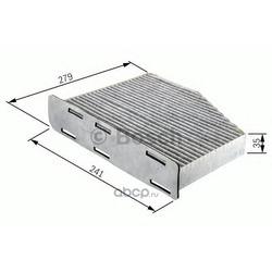 Фильтр салона угольный (Bosch) 1987432369