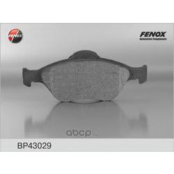 КОЛОДКИ ТОРМОЗНЫЕ ДИСКОВЫЕ FENOX (FENOX) BP43029