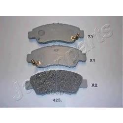 Комплект тормозных колодок, дисковый тормоз (Japanparts) PA425AF