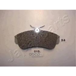 Комплект тормозных колодок, дисковый тормоз (Japanparts) PA015AF