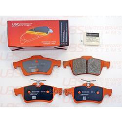 Колодки тормозные дисковые | зад | (UBS) B1101002