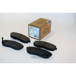 Комплект тормозных колодок, дисковый тормоз (KOTL) 1003KT