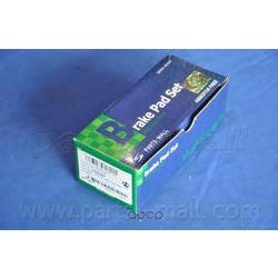 Комплект тормозных колодок (Parts-Mall) PKC024