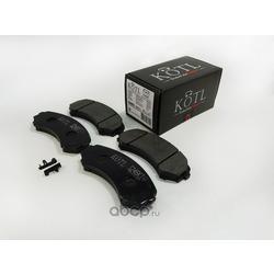 Колодки тормозные MAZDA: MPV I 95-99, MITSUBISHI: GRANDIS 04-, PAJERO CLASSIC 02-, (KOTL) 3246KT