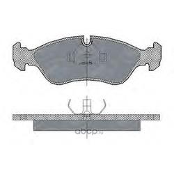 Колодки торм.FR (SCT) SP122