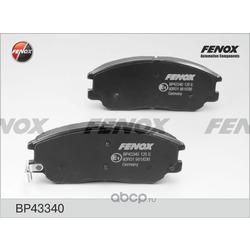 Комплект тормозных колодок, дисковый тормоз (FENOX) BP43340