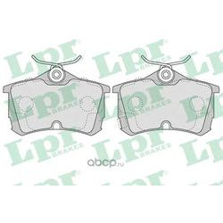 Комплект тормозных колодок, дисковый тормоз (Lpr) 05P1037