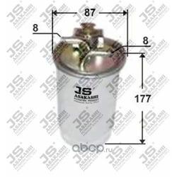 Фильтр топливный (JS Asakashi) FS0002