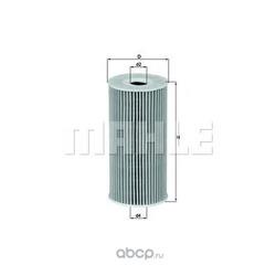 Масляный фильтр (Mahle/Knecht) OX377D