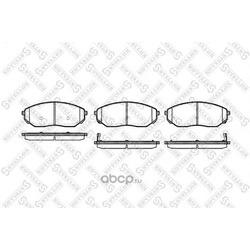 Комплект тормозных колодок (Stellox) 1052002BSX