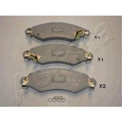Комплект тормозных колодок, дисковый тормоз (Ashika) 5008885