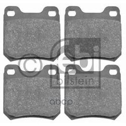 Колодки тормозные дисковые задние, комплект (Febi) 16155