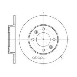 Тормозной диск (Remsa) 663000