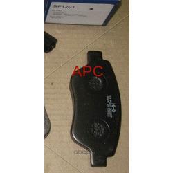 """Колодки тормозные передние """"""""Hi-Q (Sangsin brake) SP1201"""