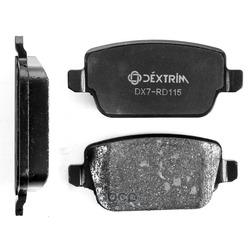 Колодки тормозные задние (Dextrim) DX7RD115