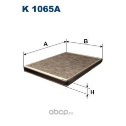Фильтр салонный Filtron (Filtron) K1065A