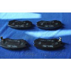 Комплект тормозных колодок (Parts-Mall) PKAE04