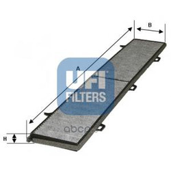 Фильтр, воздух во внутренном пространстве (UFI) 5415400