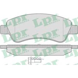 Комплект тормозных колодок, дисковый тормоз (Lpr) 05P802