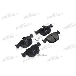 Колодки тормозные дисковые передн BMW: 5 96-03, 5 Touring 97-04, 7 94-01, X5 00- (PATRON) PBP997