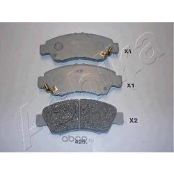 Комплект тормозных колодок, дисковый тормоз (Ashika) 5004425