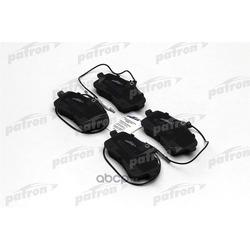 Колодки тормозные дисковые передн PEUGEOT: 407 04-, 407 SW 04- (PATRON) PBP1725