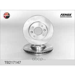 ДИСК ТОРМОЗНОЙ FENOX (FENOX) TB217147