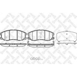 Комплект тормозных колодок (Stellox) 001094BSX