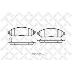 Комплект тормозных колодок (Stellox) 002014SX
