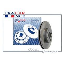 Диск переднего тормоза вентилируемый 259х20,6 (Francecar) FCR210378