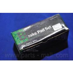 Комплект тормозных колодок (Parts-Mall) PKA049