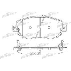 Колодки тормозные дисковые передние (PATRON) PBP1564