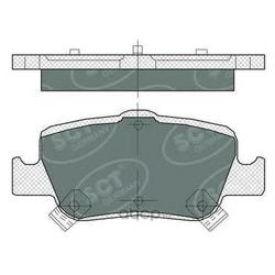 Колодки торм.RR (SCT) SP382