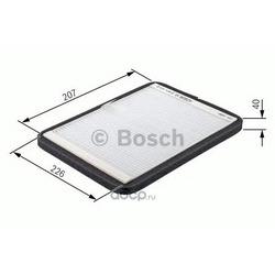 Фильтр, воздух во внутреннем пространстве (Bosch) 1987432364