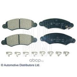 Комплект тормозных колодок, дисковый тормоз (Blue Print) ADK84228