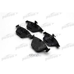 Колодки тормозные дисковые передн BMW: 3 05-, 3 Touring 05-, 3 кабрио 07-, 3 купе 06-, 5 03-, 5 Touring 04-, 6 04-, 6 кабрио 04-, 7 01- (PATRON) PBP1628
